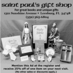 St Paul's Gift Shop - New Hours