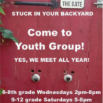 Come to Youth Group - Yes We Meet All Year