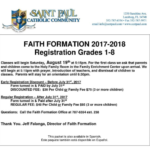 Faith Formation for Children