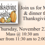 Thanksgiving Day Mass and Dinner